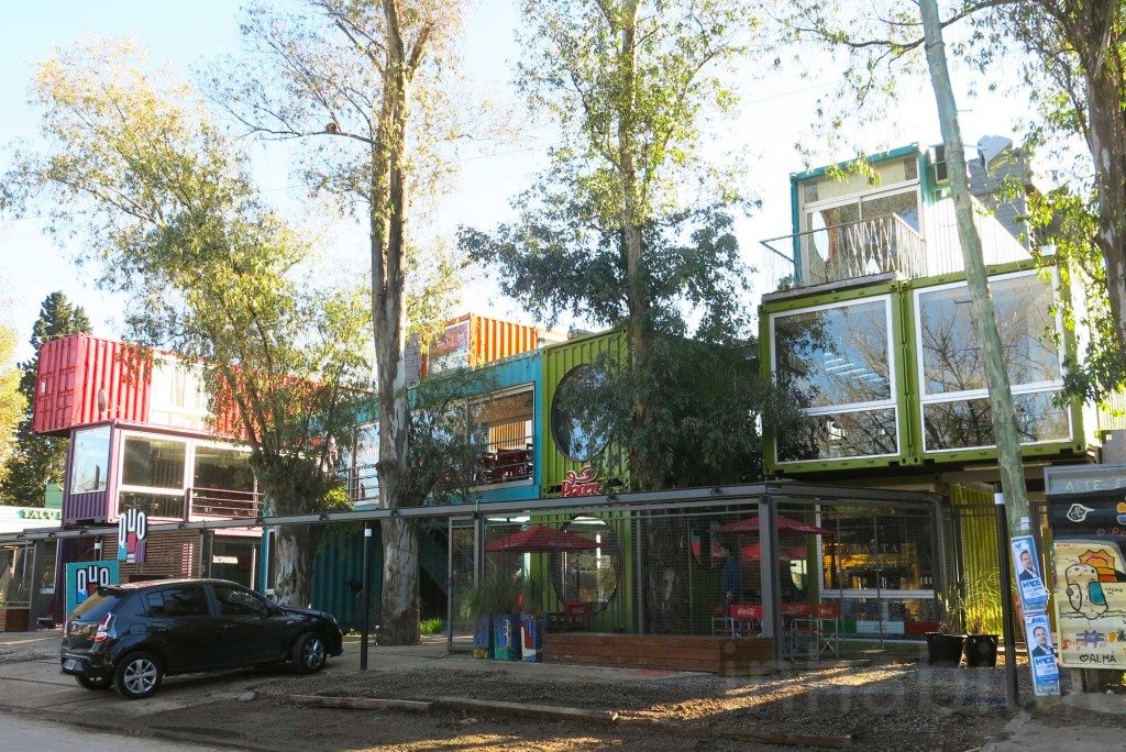 shipping container mall