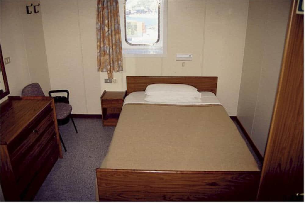 Grande Africa owners cabin 1