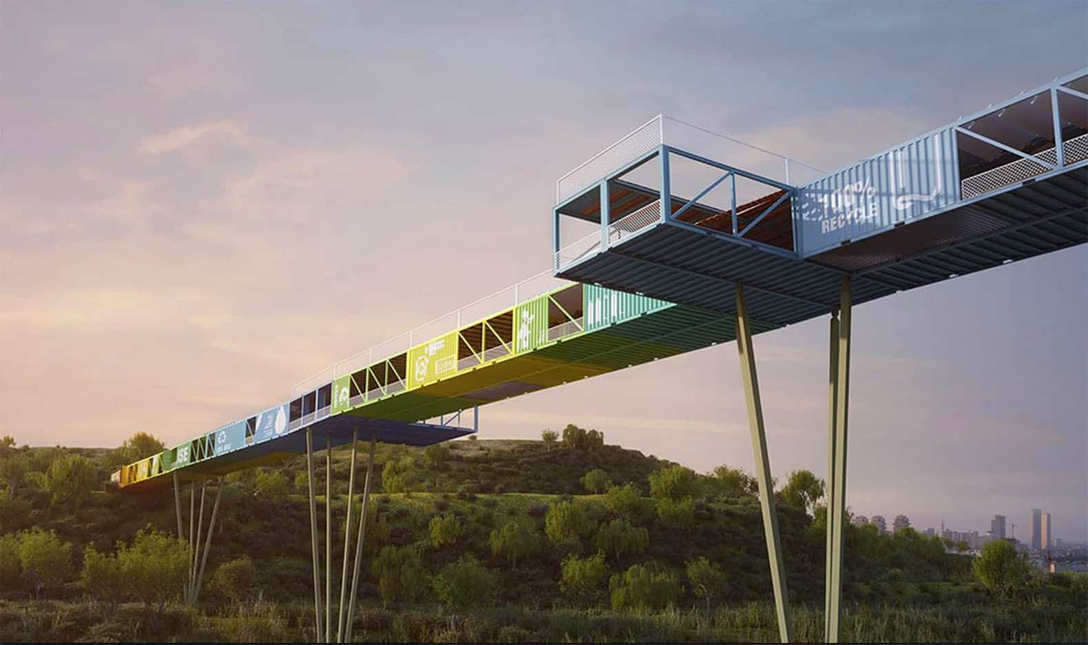 Econtainer-Recycled-Shipping-Container-Bridge