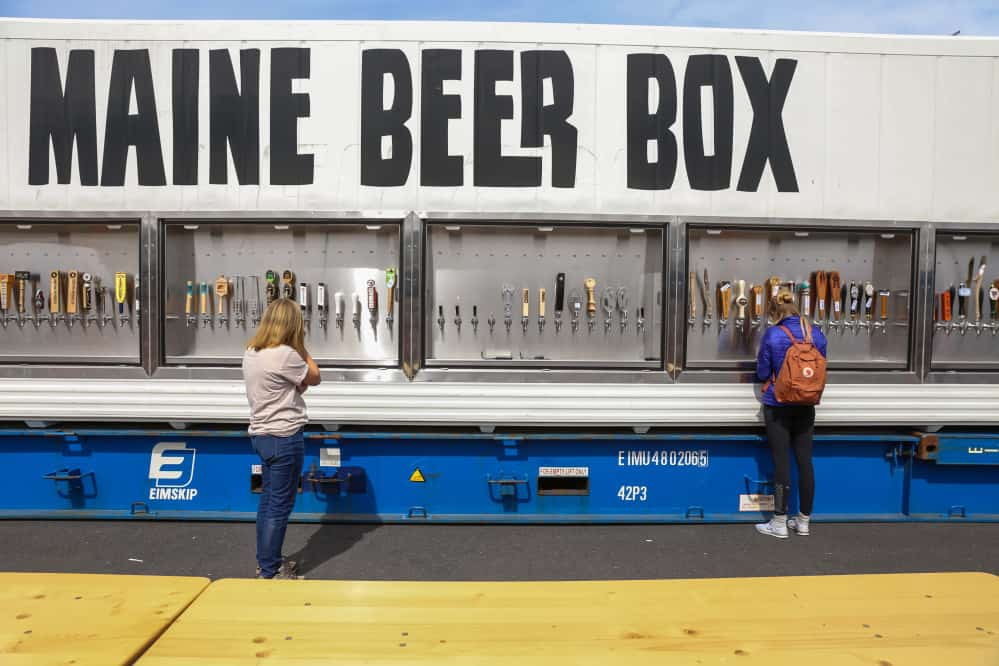 A Shipping Container Full Of Beer That Ll Do Fine Cheers Gateway Container Sales Hire