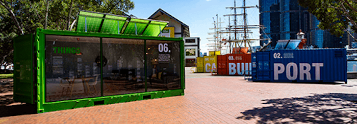 Sydney Maritime Museum Celebrates Shipping Containers
