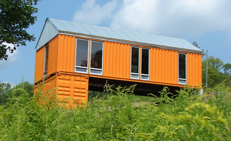 4 Upstate New York Shipping Container Holiday Homes