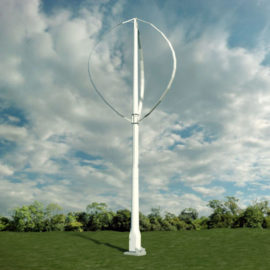 Portable Renewable Energy: Shipping Container 65kW Wind Turbine