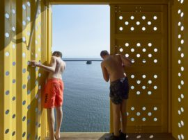 Danish Kids Get Wet and Wild From Shipping Container Diving Platform