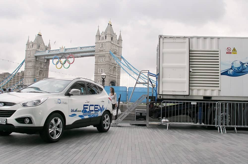 The Race for Car Power – A Shipping Container Unit To Power Vehicles