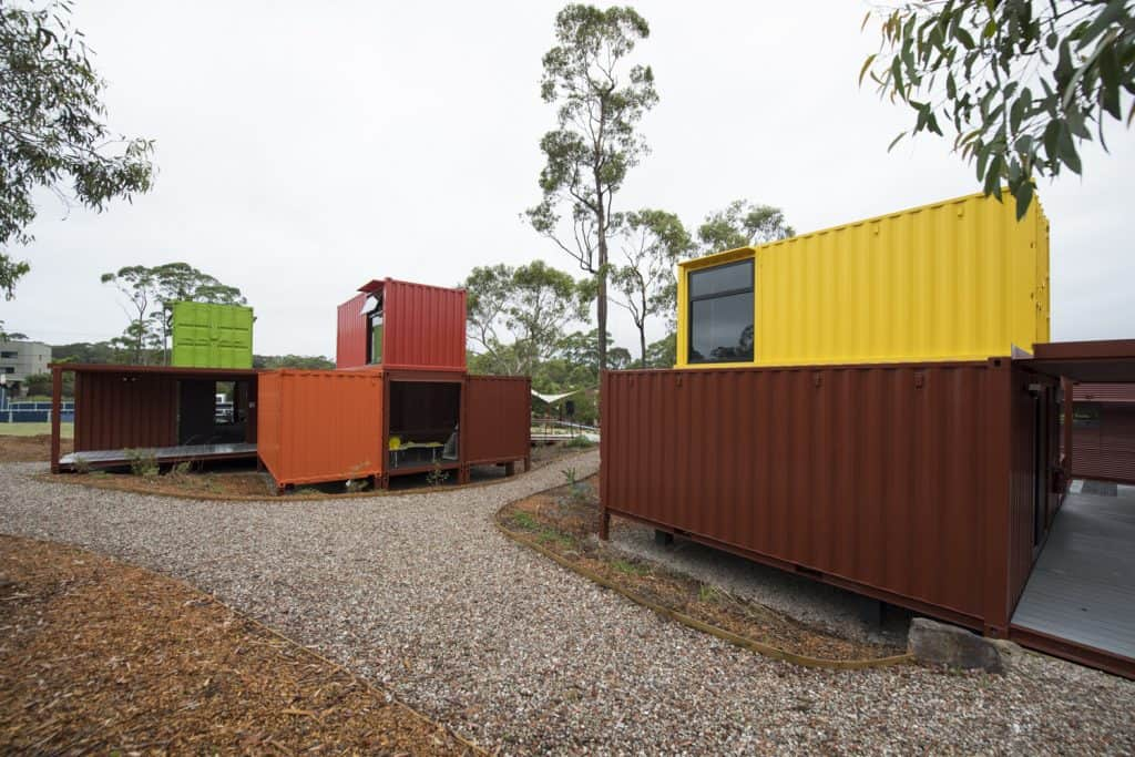 German International School Sydney Uses Shipping Container