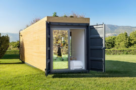 Energy Efficient Cocoon Shipping Container Home