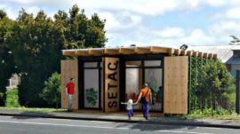 Prisoners Build Shipping Container Op Shops for Shakti in NZ