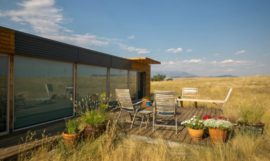 Shipping Container Home With a Killer View!