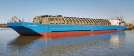 LNG Bunker Barge Built To Fuel Puerto Rico Containerships