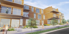 Nashville Goes Modular: 83 Freight Shipping Container Apartment Development
