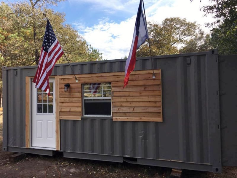 Veterans Rebuild Their Lives in Shipping Container Homes