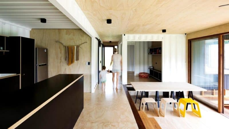 Batemans Bay Container Home: Super Cheap Need Not Be Super Ugly!