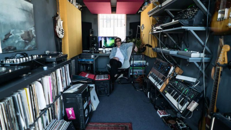 Container Studio Where Richard Fearless Makes Magic With Music