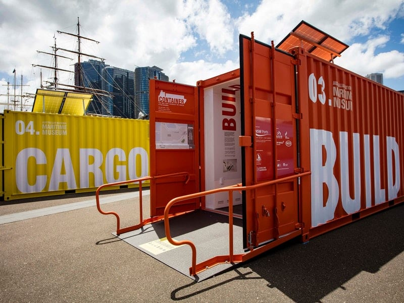 Sydney National Museum 'Container' Exhibition Goes on Tour