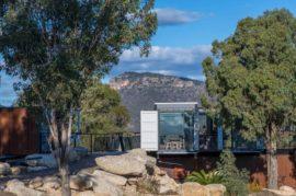 Running Horse Wines Container Cellar Door Celebrates Landscape and Wine
