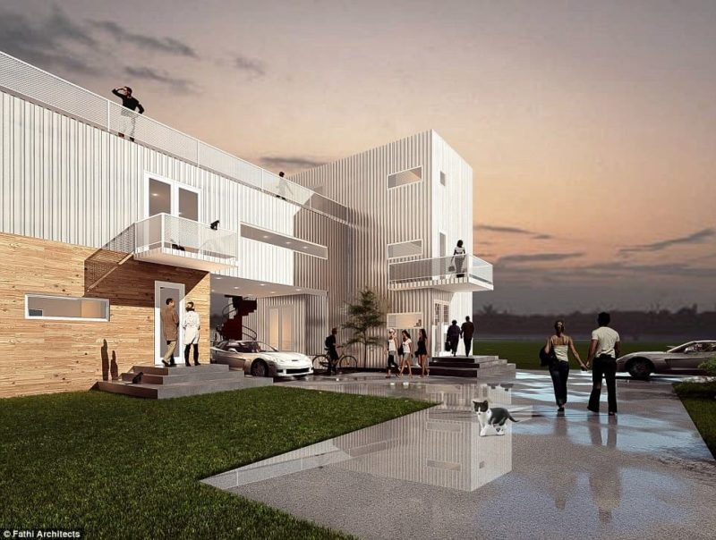 Luxury Home For Only $250K? Must Be Shipping Containers…