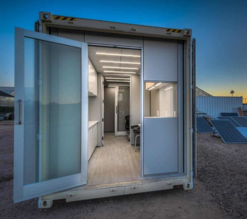Arizona State University Delivers Containerised Medical Centre to Uganda Refugee Camp
