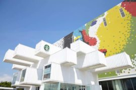 Starbucks Shipping Container Cafes