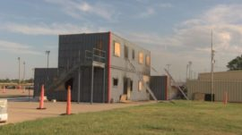 US Fire Department Builds Container Home to Burn Regularly!