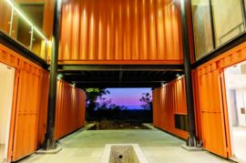 The Orange Box Project – a Shipping Container Home in India