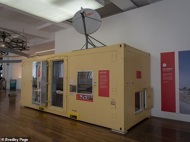 Shipping Container Home for Communications Spies