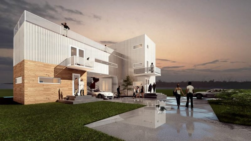 Hurricane Proof Container Home