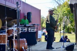Shipping Container Based Entertainment in Columbus, Ohio